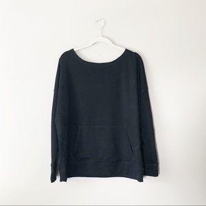 Eileen Fisher Kangaroo Pocket Sweater